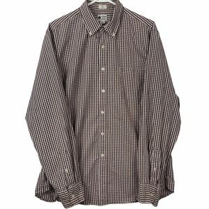 J Crew Tailored Fit Button Down Shirt Mens Size L